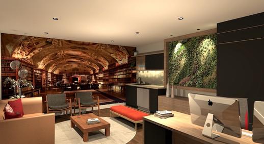 CEO Office - 3D Render