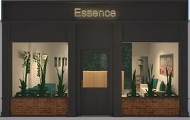 Essence Chiropractic | Facade 3D Render
