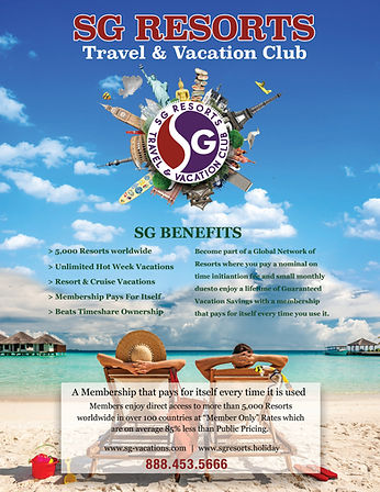 SG Resorts Vacation Clubs