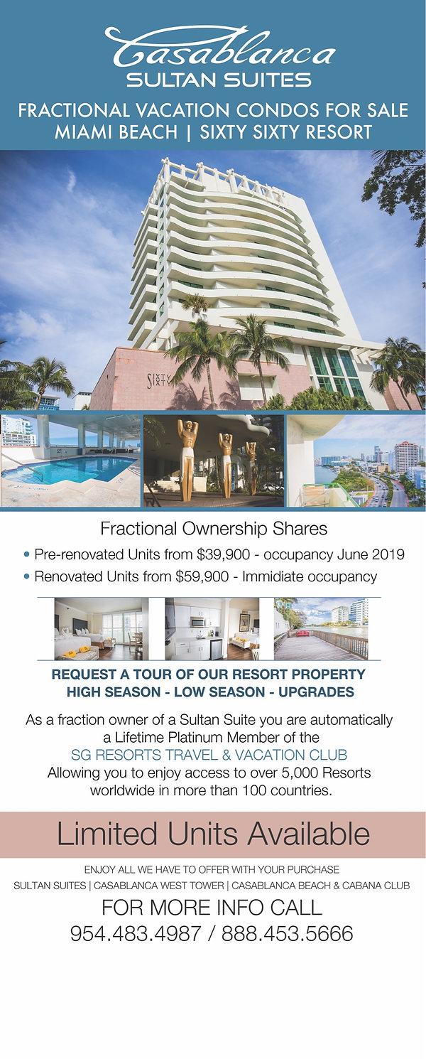 Sultan Suite Sales Offer