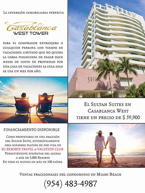 Casablanca Sultan Suite 808 H