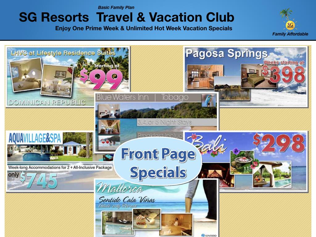 SG Resorts 5,000 Resorts Worldwide