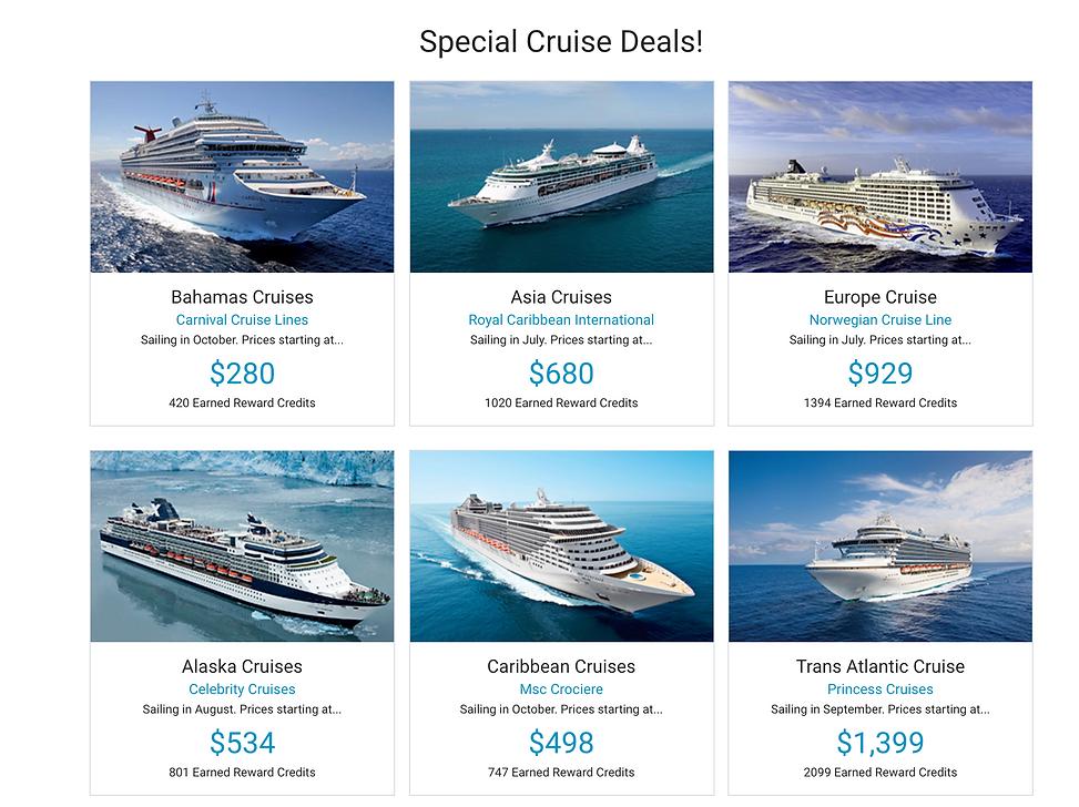 SG Cruise Options