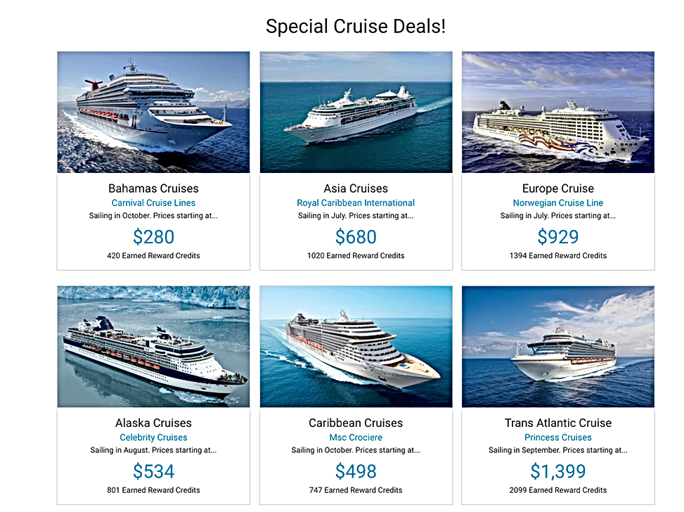 SG Cruise Options