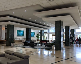 Casablanca Hotel hotel lobby welcoming guests and visitors since 1958 | The Sultan Suites are all new