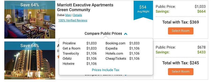 SG Price Comparison