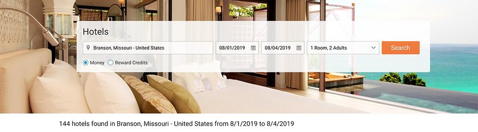 Member Hotel Search