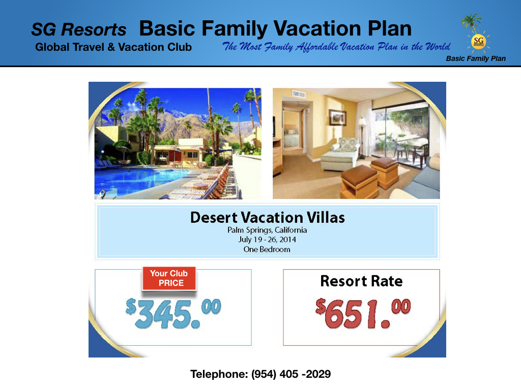 SG BASIC FAMILY PLAN from $596