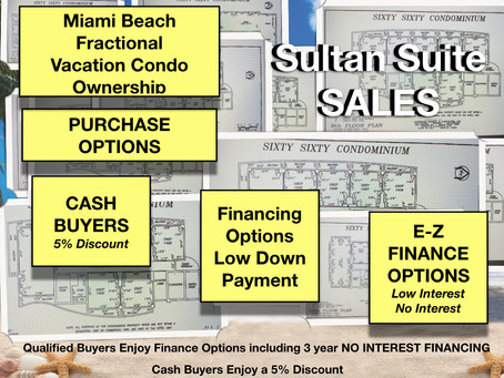Miami Beach Fractional Condo Ownership