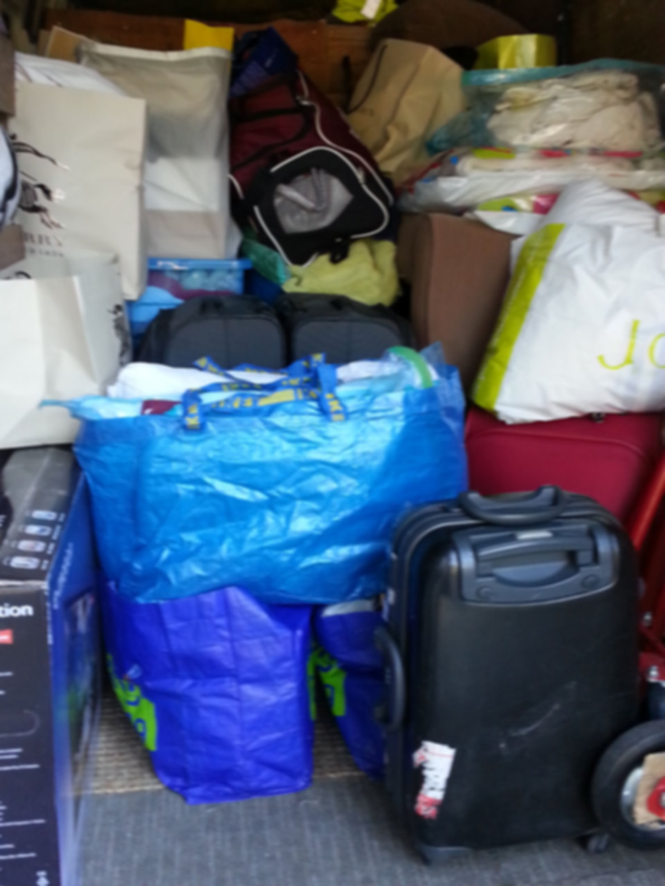 various bags and luggages. updated.