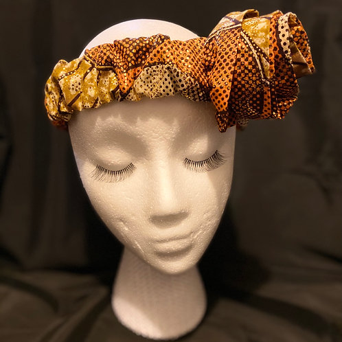 The Patrice Headband  with mask Set