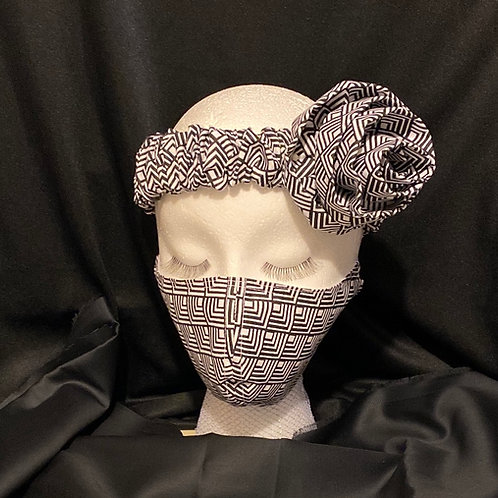 The Jernaye  headband mask set