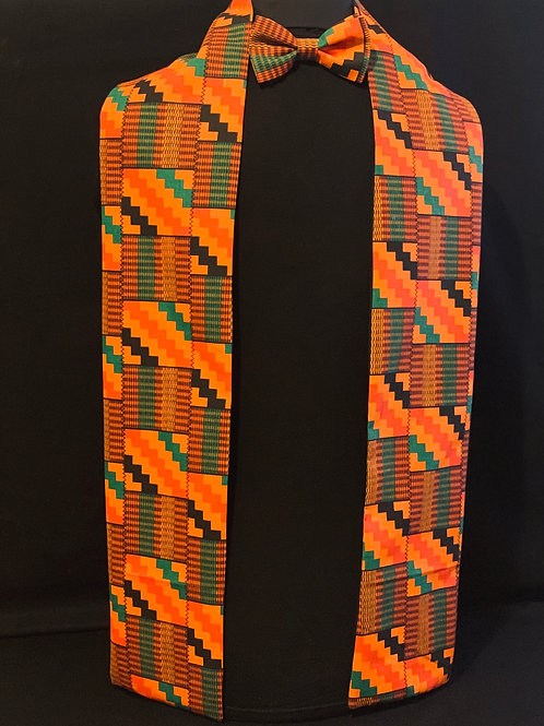 Kente Scarf & Bow Tie set