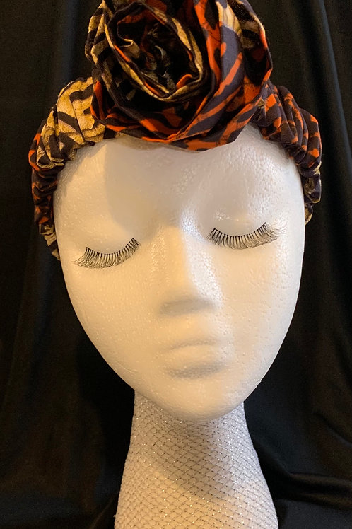 The Renee Headband with Rose