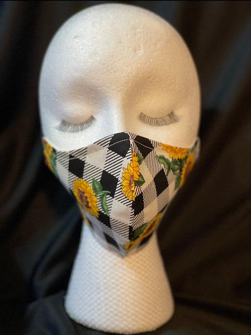 Sunflower Patch mask