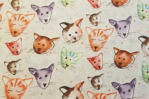 Cats fabric mask