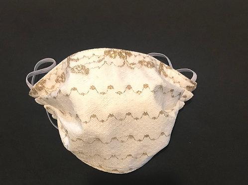 Creamy Lace mask