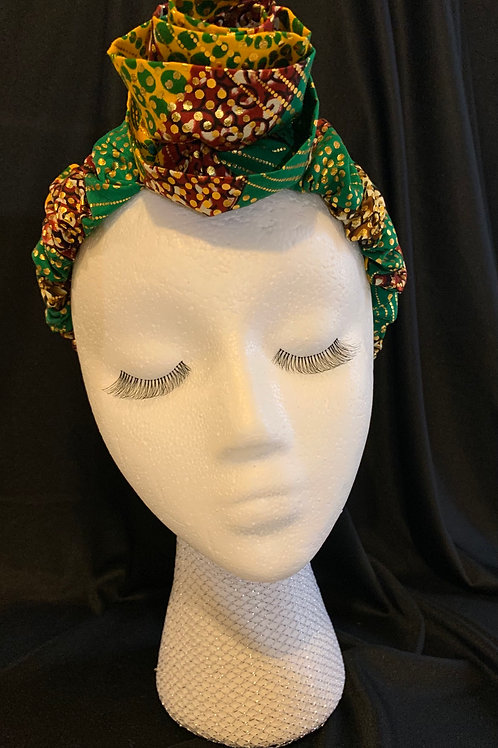 The Shantel Headband with Rose