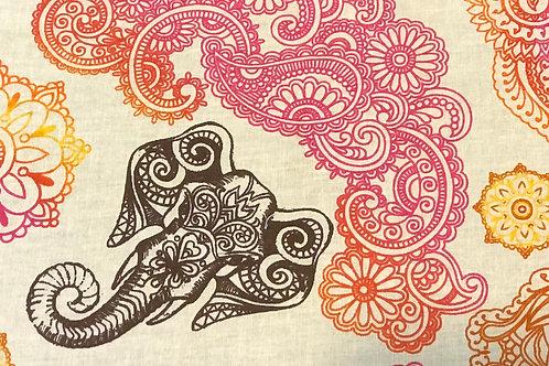 Paisley Elephant mask