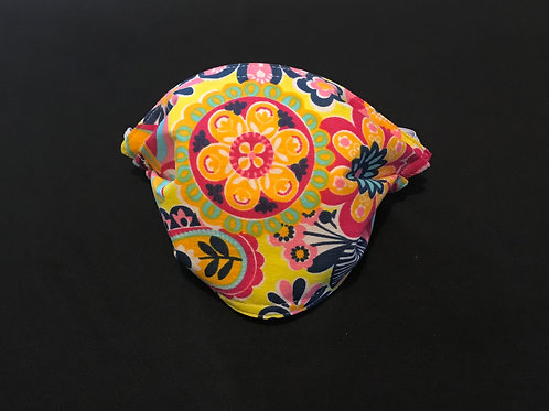 Colorful Flowers mask