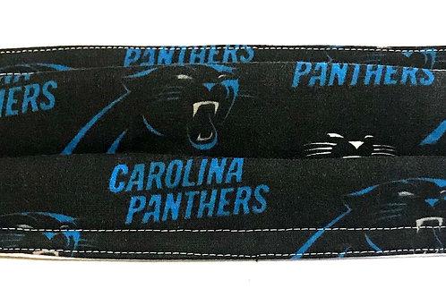 Carolina Panthers fabric mask