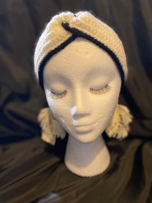 Edged Crochet headband