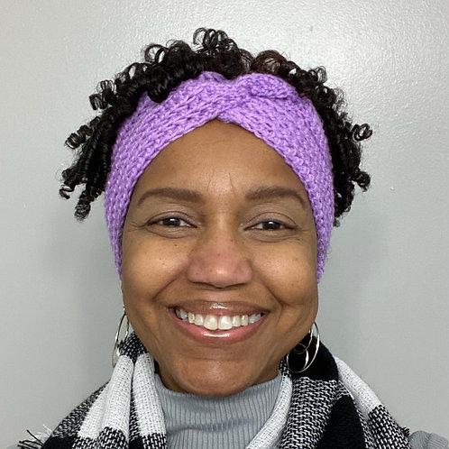 Wide Crochet Infinity Headbands