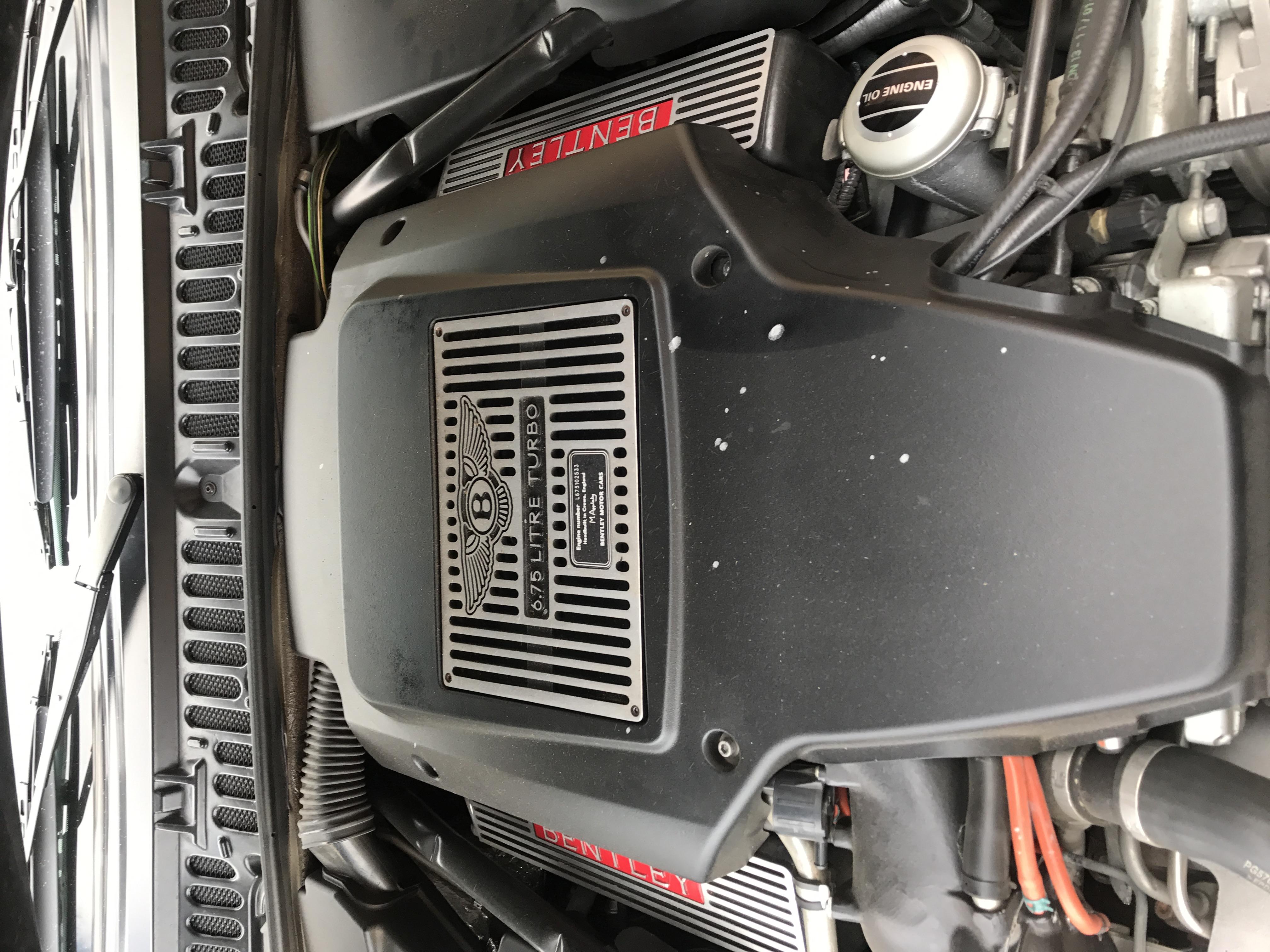 Bentley's 6.75L Beast