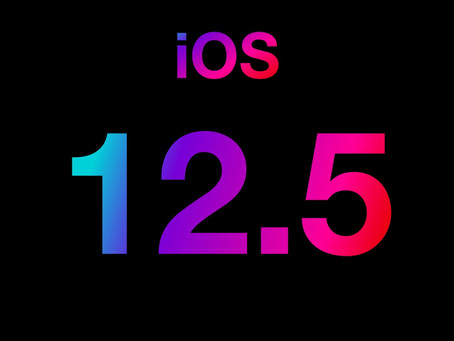 Apple stops signing iOS 12.5