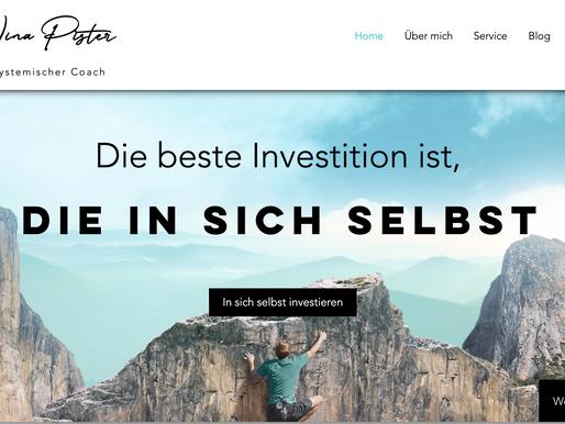 Neue Website und neuer Blog