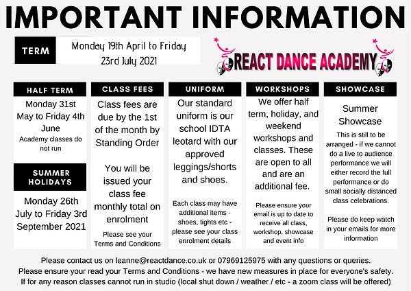 RDA Class Information Summer 2021.png
