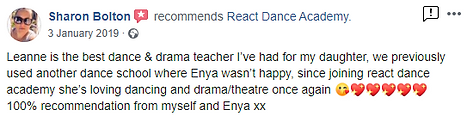 Sharon Bolton for Enya for Theatre and D