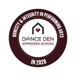 The Den Approved Badge React Dance Acade
