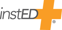 InstED_Logo_(R)_Orange & Gray_Standard u