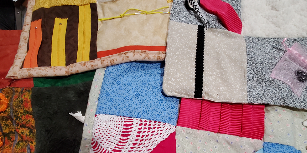 Help Make Activity Lap Quilts for   Memory-Impaired Friends
