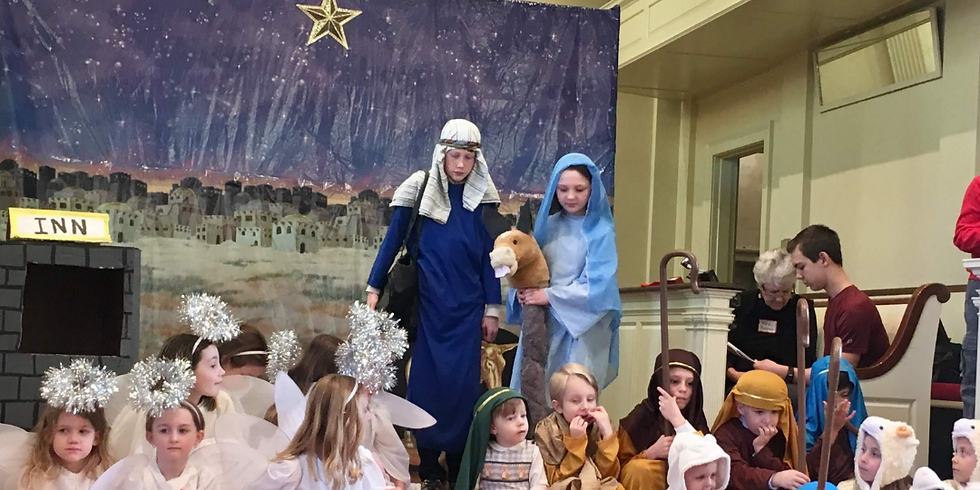 Annual Christmas Pageant (Zoom)