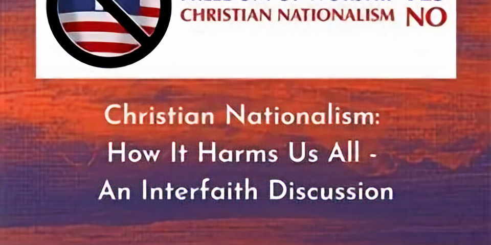 SNEUCC Presents: Christian Nationalism: How it Harms Us All