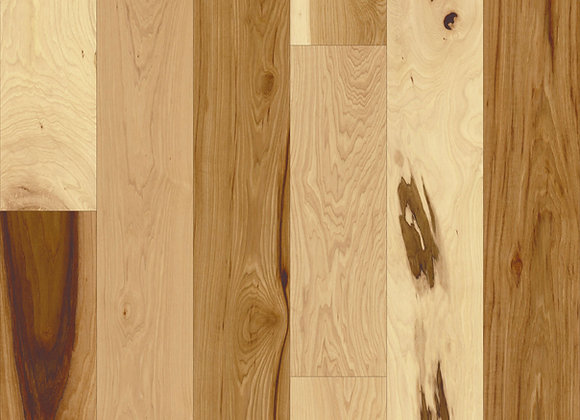 """Maine Traditions Camden Hickory Clear 7 1/2"""" x 1/2"""""""