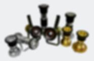metais hidráulicos, adaptadores, esguichos, derivantes, canhões, esguicho regulável, esguicho jato sólido