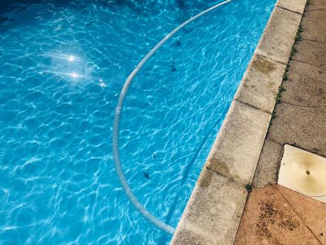 Pool Vac Action Shot