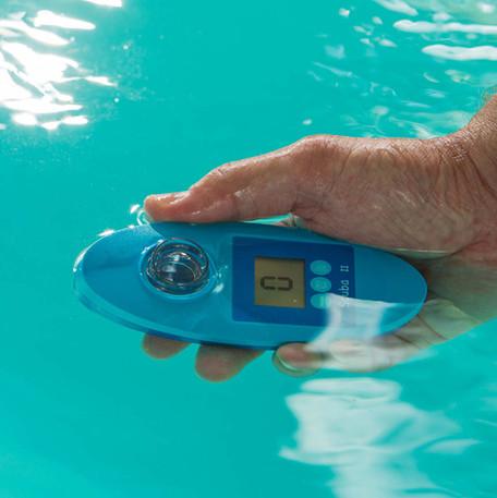 Water Testing (Action Shot)