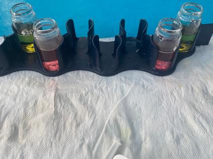 Water Testing Action Shot