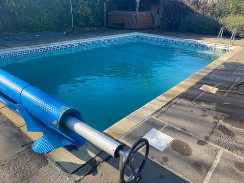 Pool Being Winterised/Shut Down 4 Winter