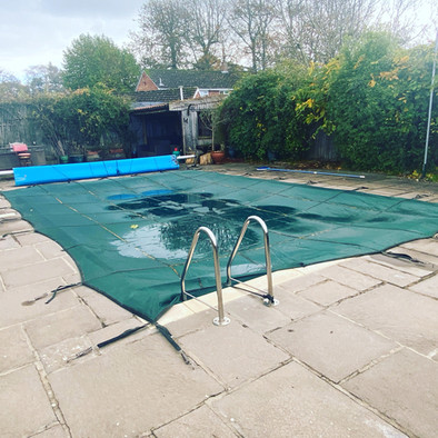 Pool All Ready For Winter