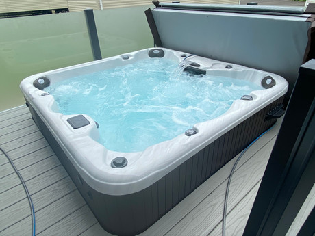 Another Clean Hot Tub