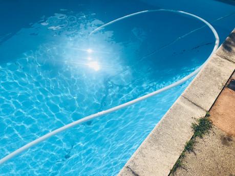 Pool Vacuum (Action Shot)