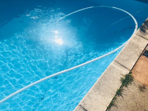 Pool Vac During Shot