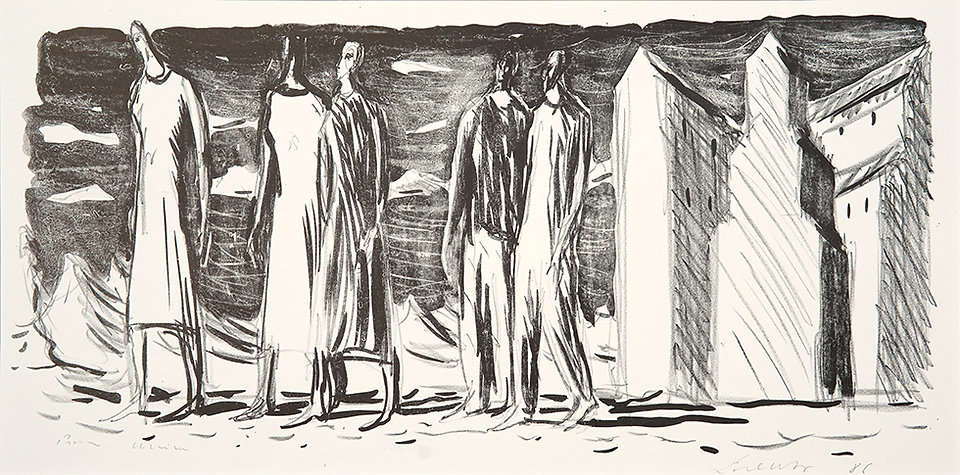 Lorenzo Bonechi, Figure, litografia