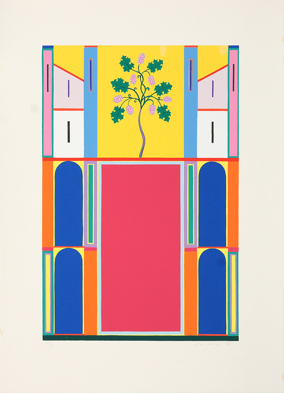 Lorenzo Bonechi, Città Celeste II, serigrafia