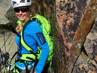 Climbing the pretty 'Aiguille L'Index'. Chamonix!